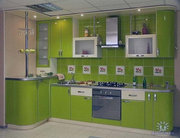 Кухонные гарнитуры с фасадом из пластика