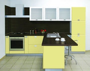 Кухонные гарнитуры фасады из пластика