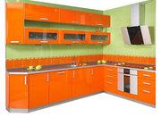 Кухонный гарнитур фасад из пластика